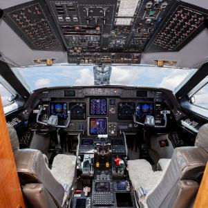 Carteret County Beaufort Airport Cockpit