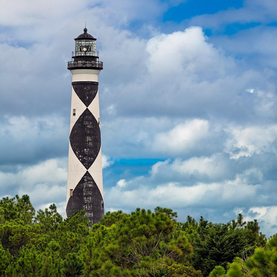 Carteret County Beaufort Airport Lighthouse