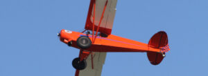 Carteret County Beaufort Airport Red Airplane